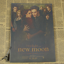 5 Sizes Scene It Twilight Movie Poster Vintage Wall Stickers Home Art Decor Picture Mural Sticker vintage poster
