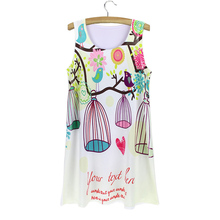 Promotion sale novelty design girls summer dress 2015 American & European women fashion sundresses wholesale free shipping