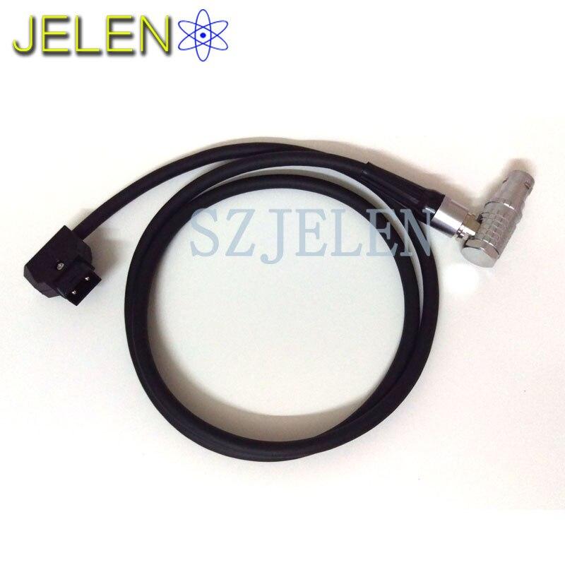 LEMO FHJ.2B.308.CLLD, camera ALEXA MINI power plugs D-TAP B-type plug turn, LEMO 2B 8 pins female to D-TAP B-type plug, Cable 2M<br>