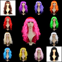 Long Hair Big Wave Headwear New Year Christmas Fun Dancing Party Performance