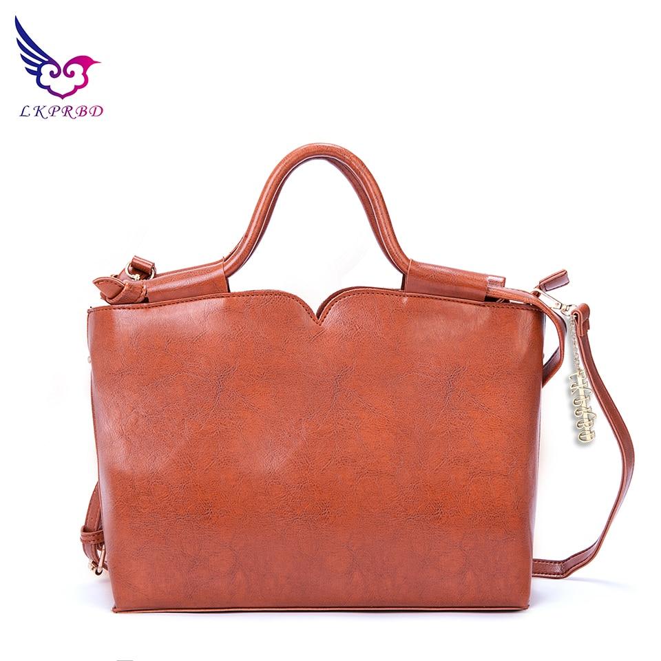 2018 LKPRBD New Famous Brand Shoulder Bag Large Fashion Women Bag Ladies Hand Bags Luxury Designer Women Messenger Bags Vintage
