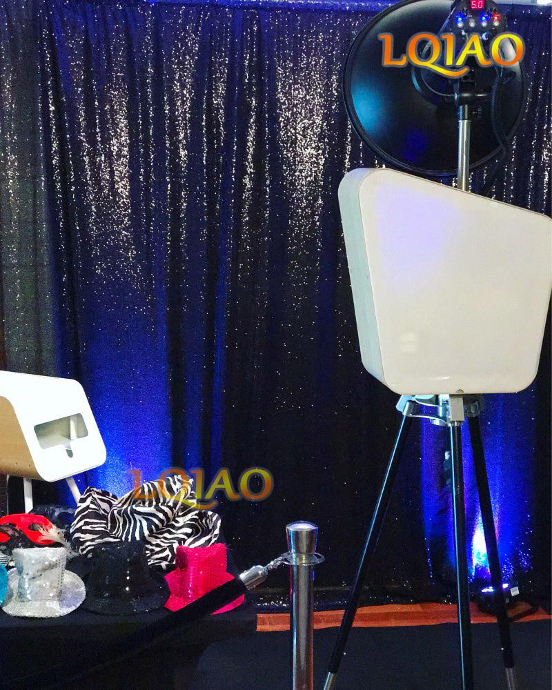 Black sequin backdrop-002 new