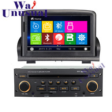 "7"" Professional Wince Car Entertainment System Multimedia Player For peugeot 307 new Auto GPS Navigation 8GB Free Maps"