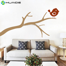 Bird on a Branch Wall Decal Cute Birds Tree Wall Stickers Home Decor Living Room Corner of wall Wall Tattoo Vinilos Parede A585