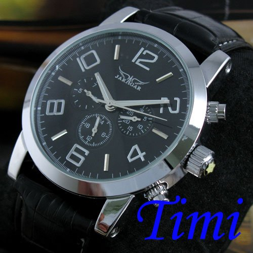 NEW Automatic Mechanical 6 Hands Mens Luxury Watch<br><br>Aliexpress