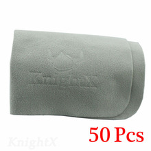 KnightX 50PCS Microfiber Glasses Eyeglass Cleaning Cloth Lens Cleaners ND Filter Cloth cellphone screen DV CLOTH soft(China)