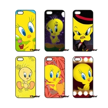 Cartoon Anime Tweety Bird Art Mobile Phone Cover For LG L Prime G2 G3 G4 G5 G6 L70 L90 K4 K8 K10 V20 2017 Nexus 4 5 6 6P 5X(China)