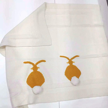 New Thick Cotton Boy And Girl Baby Rabbit Blankets Baby Bedding Accessories