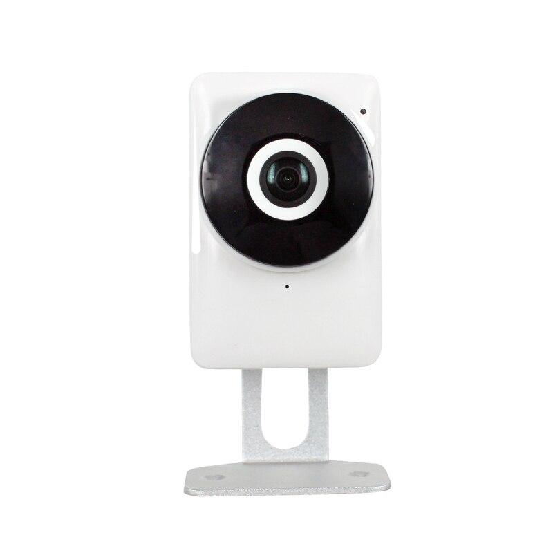 HD 720P 1.0MP Wifi IP Camera 180 Degree View Night Vision Mini Wireless Baby Monitor CCTV Smart Camera Security P2P,sn: EC1-G6<br>