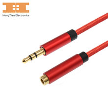 Aux cable 3.5mm male to female gold plated jack 3.5 plug HIFI stereo audio cable 3.5mm headphone extension cord 30cm 1m 2m 3m 5m