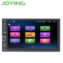 "Joying Quad Core 7 ""1024*600 2 Din Android 6.0 Car Radio Audio Stereo Support GPS TV 3G WiFi Universal GPS Navigation Head Unit(China)"