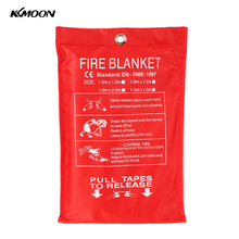 Fire Blanket Fiberglass Fire Flame Retardant Emergency Survival Fire Shelter Safety Cover Fire Emergency Blanket(China)