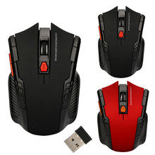 Malloom High Speed 2.4Ghz Mini Wireless Optical Gaming Mouse Mice& USB Receiver For PC Laptop Noiseless Gaming Mouse  Promotion