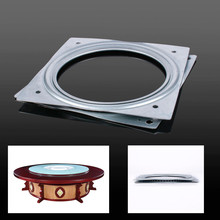 155 * 155mm Dining Table Turntable Hotel Home Furniture Wheel Parts Industrial Rotary Table Bearing Swivel Plate