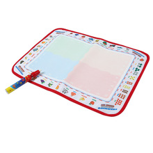 Hot Sale Baby Kids Toys Water Drawing Mat 39 * 29.5 CM Board Painting and Writing Doodle Non-toxic Drawing Board With Magic Pen
