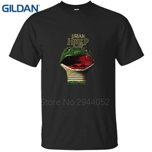 ali t shirts Interesting Websites Christmas Uriah Heep Demons And Wizards Homme No buckle black tee shirt mans jersey cotton