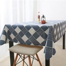 Japanese-style Retro Table Cloth dining table mat coffee tea table tablecloth bar restaurant decoration home decor Textile AU579