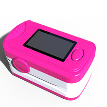 New Rose Red  OLED Fingertip Pulse Oximeter With Audio Alarm & Pulse Sound - Spo2 Monitor Finger Puls Oximeter