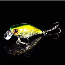 1Pcs 4cm 5.9g Suitable for beginners Plastic Crank Lures Hard Baits For carp fishing Accessories Sports Tools Blackfish killer(China)
