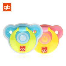 GB Cute Bear BPA Free Silicone Dummy Pacifier Newborn Baby Night Time Soother Nipple for 0+ Months(China)