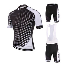 Wholesale stock short sublimation pro cycling wear/high performance cycling uniform set/2017 sublimation print bicycle clothing(China)