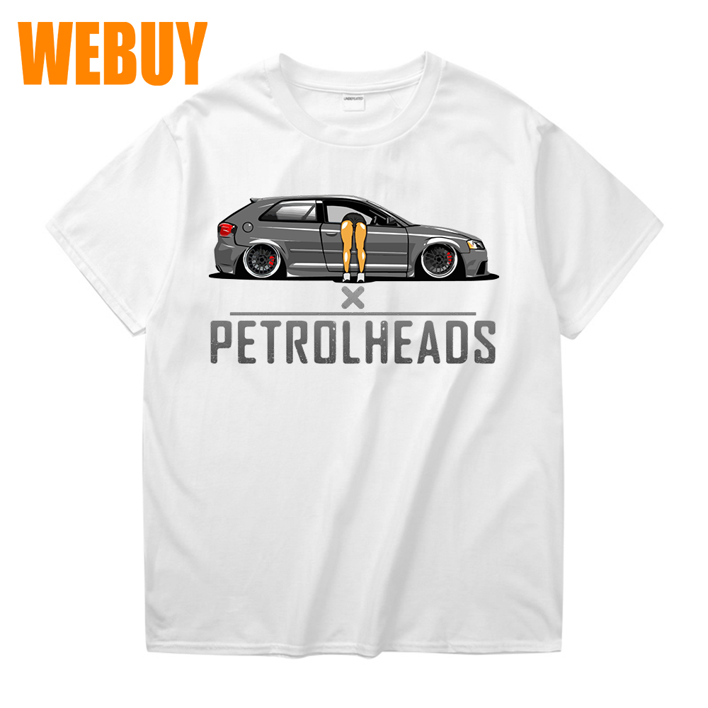 Koolart Petrolhead Speed Shop Motif with Retro Mk1 Escort car image mens T-Shirt