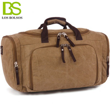 Travel Bag Large Capacity Crossbod Men Hand Luggage Travel Duffle Bag Canvas Weekend Bags Trip Bags Bolsos de Hombre