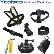 Buy Action Camera Accessories Chest Head Strap Monopod Floating Hand Grip Bobber Mount Gopro Hero 5 4 3 Xiaomi Yi SJ4000 EKEN H9 for $12.39 in AliExpress store