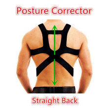 Humpbacke Kyphosis Prevent Shoulder Back Posture Corrector Free Size Braces for Student Men and Women Top Quality T176(China)