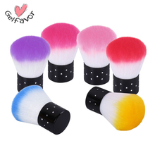 Gelfavor 1PCS Nail Tools Brush For Acrylic & UV Gel Nail Art Dust Clean Brush Manicure Pedicure Tool Nail Art Dust Cleaner(China)
