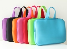 "15'' Pure Color Neoprene 15"" 15.4"" 15.6"" PC Laptop Notebook Carry Sleeve Case Pouch Bag Cover for Apple Sumsung Sony"
