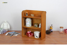 1PC LONGMING HOME Zakka vintage retro multilayer wood furniture storage cabinets hanging wall wood storage box JL 0944