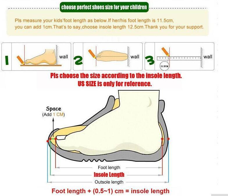 2018 Respirant Sneaker Chaussures Garçons et Filles 9