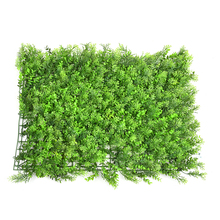 63*44cm DIY Plastic Artificial Lawn Turf Thicken Artificial Grass Lawns Garden Balcony Decor House Market Hotel Wall Ornaments(China)