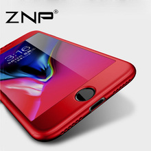 Buy ZNP Luxury 360 Degree Full Protection Cases iPhone 7 6 6s Plus Case iphone 6 7 Plus 6s 7Plus Phone Case + Tempered glass for $4.00 in AliExpress store