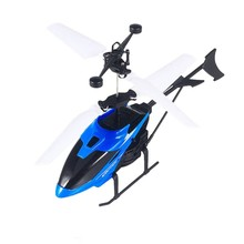 3D Gyro Helicoptero with USB Charging Cable Kids Toys Mini RC Helicopter