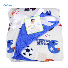 Summer Cotton Flannel Baby Blanket Comfort Newborns blankets Baby Bedding Envelop Swaddles Wrap Double Air Conditioning Room