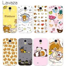 Lavaza funny cute cartoon Rilakkuma Hard Transparent Cover Case for Samsung Galaxy S7 Edge S6 S8 Edge Plus S5 S4 S3 & Mini S2(China)