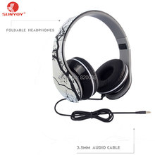 Best foldable wired headphones with microphone and good looking, Free Shipping