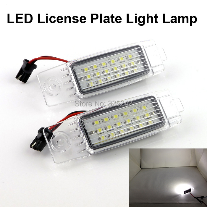 For Toyota Hiace Regiusace Vanguard,No OBC error Excellent Ultra bright TAIWAN 3528 Epistar Led License plate lamp light<br><br>Aliexpress