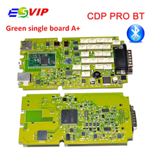 Single Board TCS CDP PRO PLUS cdp pro for CARs/TRUCKs+Generic 3 in 1 New NEC Relays bluetooth SCANNER +2015.R3 software obd tool