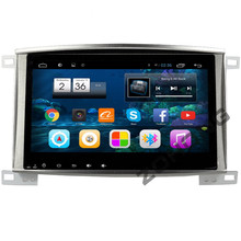 10.2 inch Android Car DVD Player for Toyota Land Cruiser 100 LC 100 LC100 GPS Navigation Radio Bluetooth wifi MAP HD1024*600