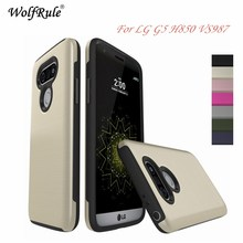 For Phone Case LG G5 Cover Anti-knock Silicone Business Style Phone Case For LG G5 Case For LGG5 H850 VS987 H820 LS992 Funda(China)