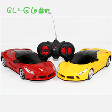2017 1/24 rc car radio remote control toys wireless electric drift car with LED light toy gift for children boys Original Box(China)