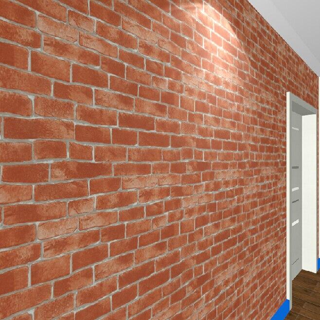 Chinese background embossed vintage vinyl 3d red brick wallpaper restaurant Waterproof  faux brick wall paper bathroom 10m roll<br>
