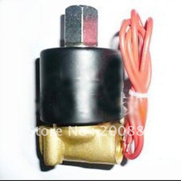 1/4 brass Solenoid Valve DC12V AC220V DC24V high pressure  normally open  for Water oil steam<br><br>Aliexpress