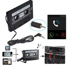 Vehemo 3.5mm Car Audio Cassette Tape Adapter AUX For iPod MP3 MP4 Cell Phone CD DVD Player car stereo