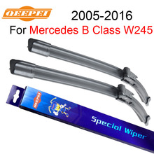 QEEPEI For Mercedes B Class W245 2005-2016 26''+23''R Auto Wipers Blade Accessories For Auto Rubber Windshield Wiper ,CPB109
