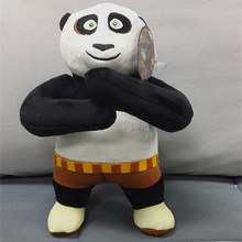 20cm=7.9inch Original Cartoon Kung Fu Panda 3 Standing Panda Stuffed Animal Toy Soft Doll For Baby Gift,Free shipping