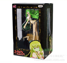 23cm Code Geass CC Sexy Character Action Figures PVC brinquedos Collection Figures toys for christmas gift with retail box